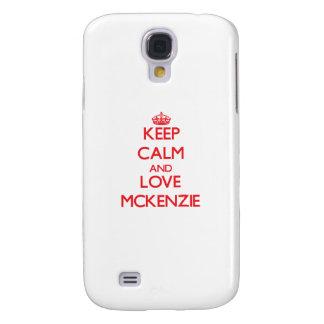 Guarde la calma y ame a Mckenzie