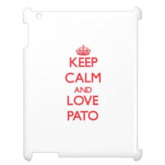 Guarde la calma y ame a Pato