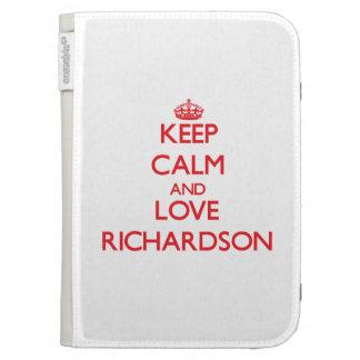 Guarde la calma y ame a Richardson