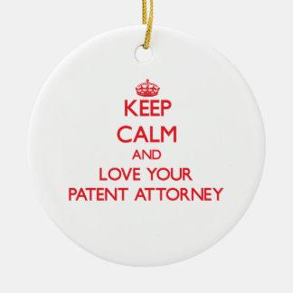 Guarde la calma y ame a su abogado de patentes