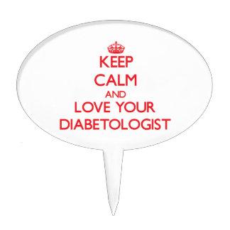 Guarde la calma y ame a su Diabetologist