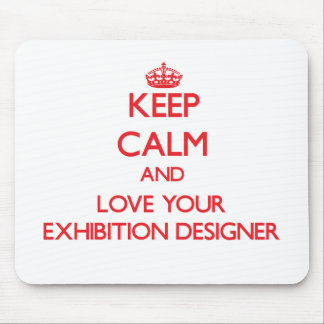 Guarde la calma y ame a su diseñador de la exposic