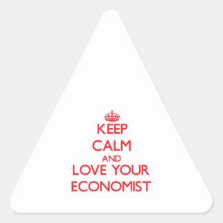 Guarde la calma y ame a su economista