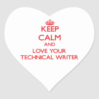 Guarde la calma y ame a su escritor técnico