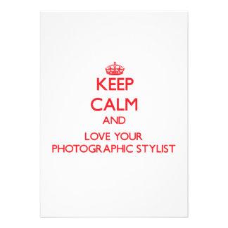 Guarde la calma y ame a su estilista fotográfico