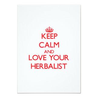 Guarde la calma y ame a su Herbalist Anuncios