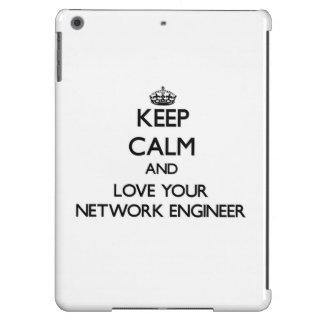 Guarde la calma y ame a su ingeniero de la red