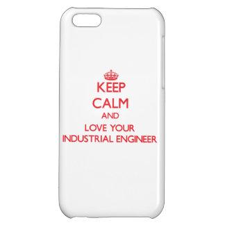 Guarde la calma y ame a su ingeniero industrial