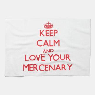 Guarde la calma y ame a su mercenario