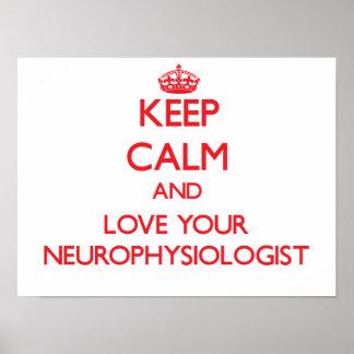 Guarde la calma y ame a su neurofisiólogo