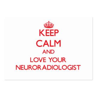 Guarde la calma y ame a su neuroradiólogo