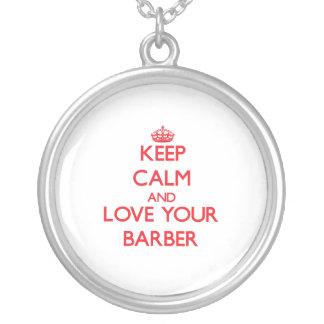 Guarde la calma y ame a su peluquero joyerías