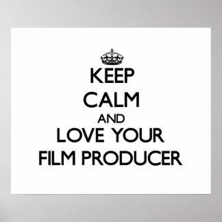 Guarde la calma y ame a su productor cinematográfi