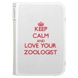Guarde la calma y ame a su zoologista
