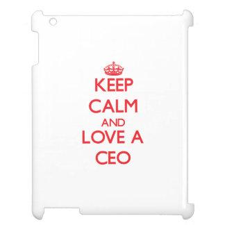 Guarde la calma y ame a un CEO