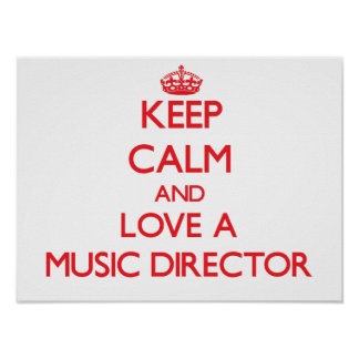 Guarde la calma y ame a un director musical impresiones