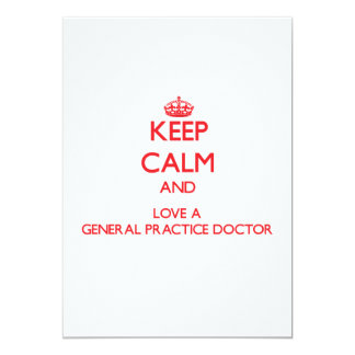 Guarde la calma y ame a un doctor de la práctica anuncios personalizados