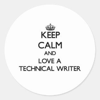 Guarde la calma y ame a un escritor técnico