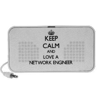 Guarde la calma y ame a un ingeniero de la red iPhone altavoz