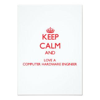 Guarde la calma y ame a un ingeniero del hardware