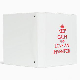 Guarde la calma y ame a un inventor