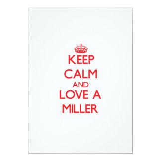 Guarde la calma y ame a un Miller Comunicado Personal
