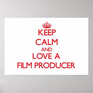 Guarde la calma y ame a un productor cinematográfi poster