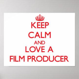 Guarde la calma y ame a un productor cinematográfi impresiones