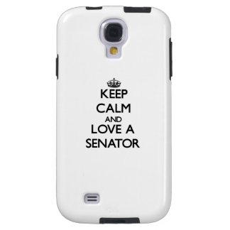 Guarde la calma y ame a un senador