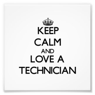 Guarde la calma y ame a un técnico cojinete