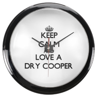 Guarde la calma y ame a un tonelero seco relojes aquavista