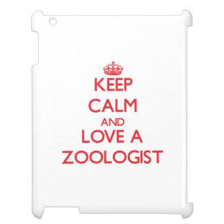 Guarde la calma y ame a un zoologista