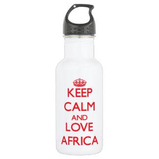 Guarde la calma y ame África