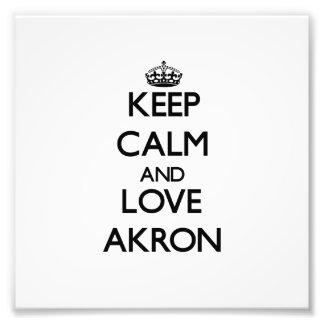 Guarde la calma y ame Akron
