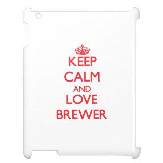 Guarde la calma y ame al cervecero