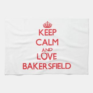Guarde la calma y ame Bakersfield
