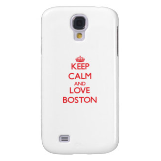 Guarde la calma y ame Boston