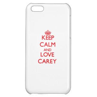 Guarde la calma y ame Carey