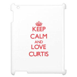 Guarde la calma y ame Curtis