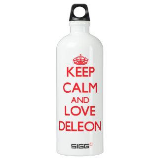 Guarde la calma y ame Deleon