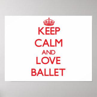 Guarde la calma y ame el ballet impresiones