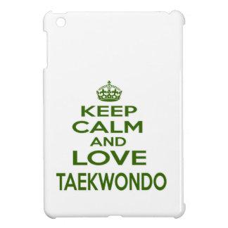 Guarde la calma y ame el Taekwondo