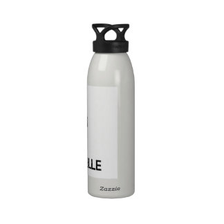 Guarde la calma y ame Gainesville Botella De Agua
