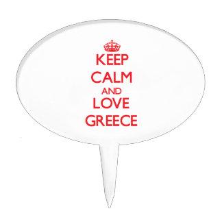 Guarde la calma y ame Grecia