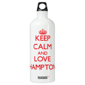 Guarde la calma y ame Hampton