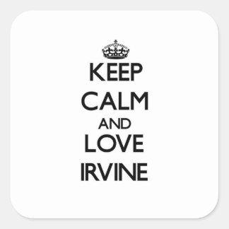 Guarde la calma y ame Irvine