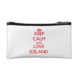 Guarde la calma y ame Islandia