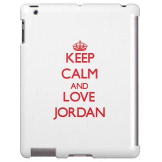 Guarde la calma y ame Jordania