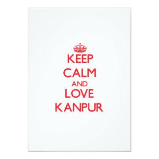 Guarde la calma y ame Kanpur Anuncios