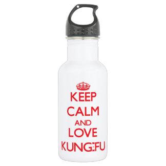 Guarde la calma y ame Kung-Fu